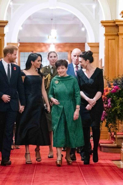 Meghan & Harry Attend Reception Hosted by New Zealand Governor General