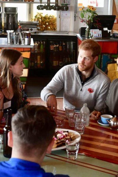 Meghan & Harry Meet Young New Zealanders