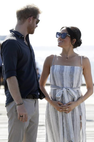 Meghan & Harry Complete Walkabout on Fraser Island