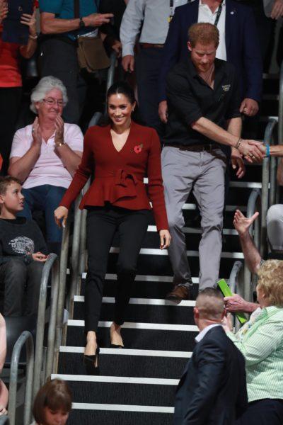 Meghan & Harry Watch Invictus Games Wheelchair Basketball