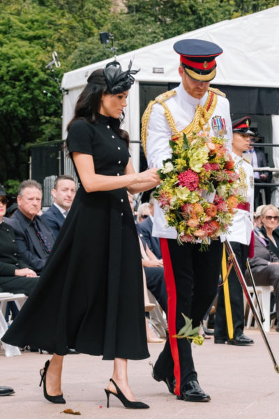 Meghan & Harry Attend Official Opening of ANZAC Memorial