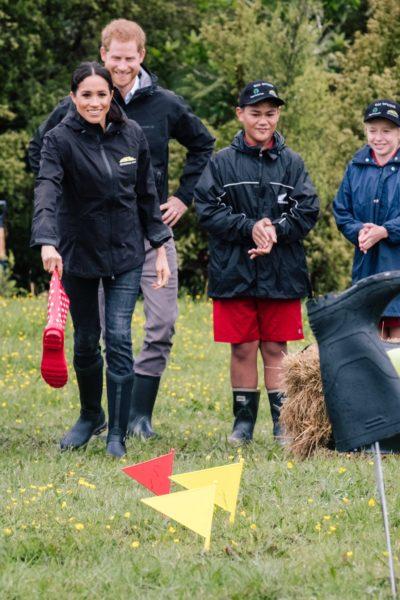 Meghan & Harry Dedicate Queen's Commonwealth Canopy in Auckland