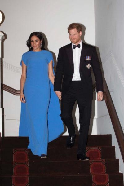 Meghan & Harry Attend Fijian State Dinner