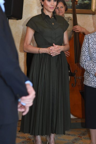 Meghan & Harry Attend Afternoon Reception at Admiralty House