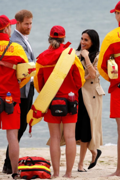Meghan & Harry Head to the Beach in Melbourne