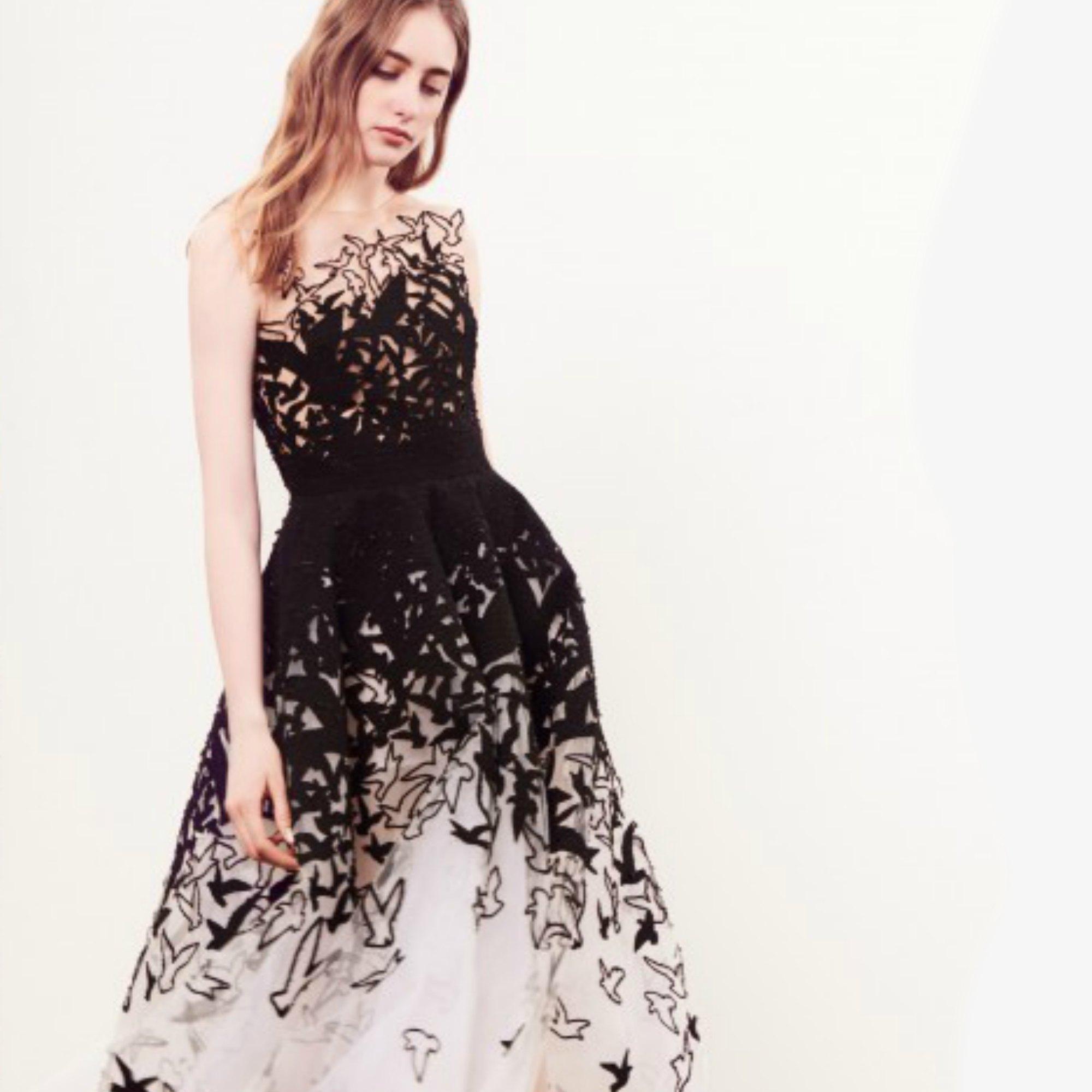 Oscar Dela Renta Wedding Gown: Oscar De La Renta Tulle Gown