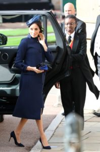 Meghan & Harry Attend the Wedding of Princess Eugenie & Jack Brooksbank