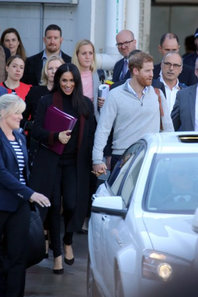 Meghan and Harry Arrive in Sydney for the Royal Tour Australia