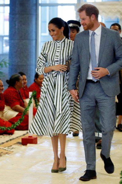 Meghan & Harry Visit Tongan Prime Minister
