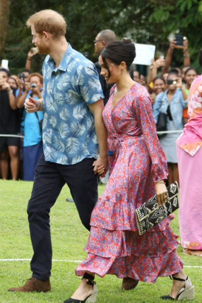 Meghan & Harry Visit the University of the South Pacific