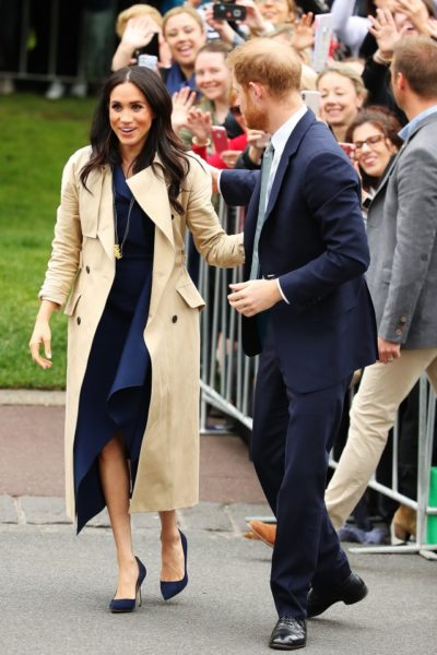 Meghan and Harry Arrive in Melbourne