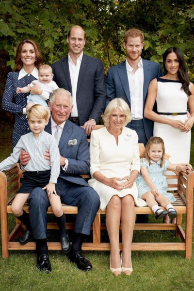 Family Photographs Released for Prince Charles' 70th Birthday