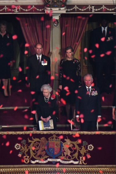 Meghan and Harry attend the Festival of Remembrance 2018