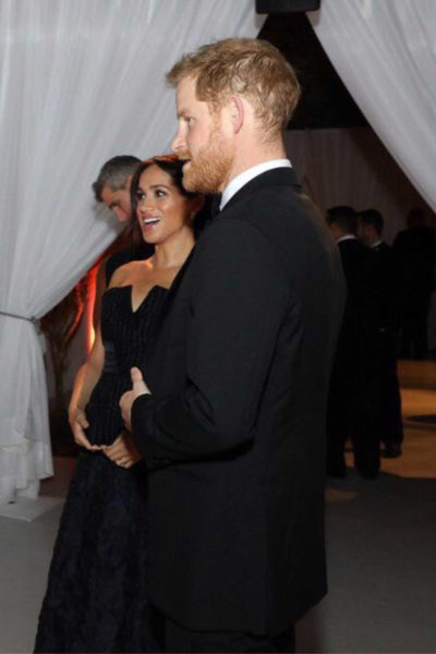 Meghan and Harry attend Royal Foundation Dinner