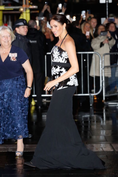Meghan and Harry attend the Royal Variety Performance